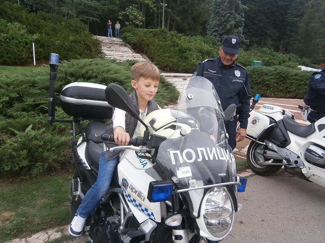 Druženje sa policijom u Niškoj Banji
