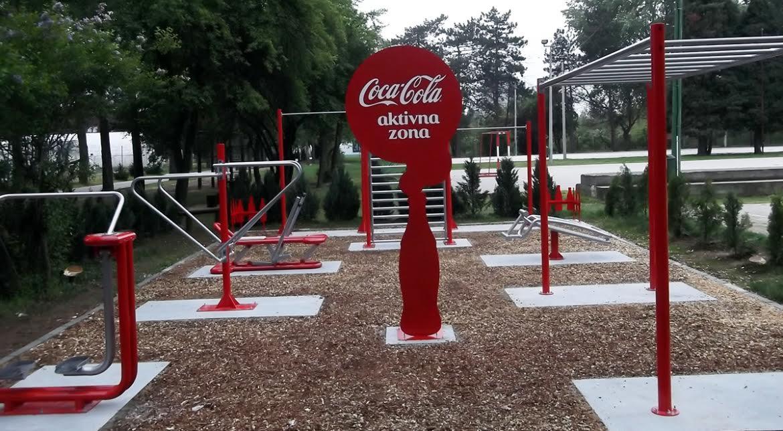 Najaktivnije leto u Niškoj Banji je počelo – BESPLATNI TRENINZI U COCA-COLA AKTIVNOJ ZONI