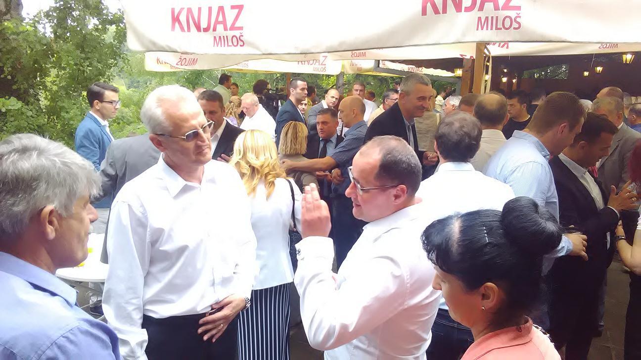 Koktel povodom krsne slave GO Niška Banja