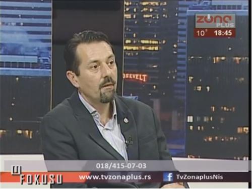 U FOKUSU: Gost emisije Dejan Jovanović, predsednik GO Niška Banja