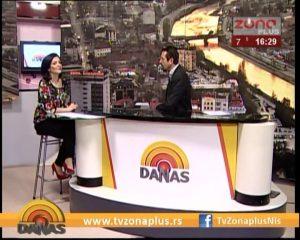 TV ZONA, Dejan Jovanović, predsednik Gradske opštine Niška Banja