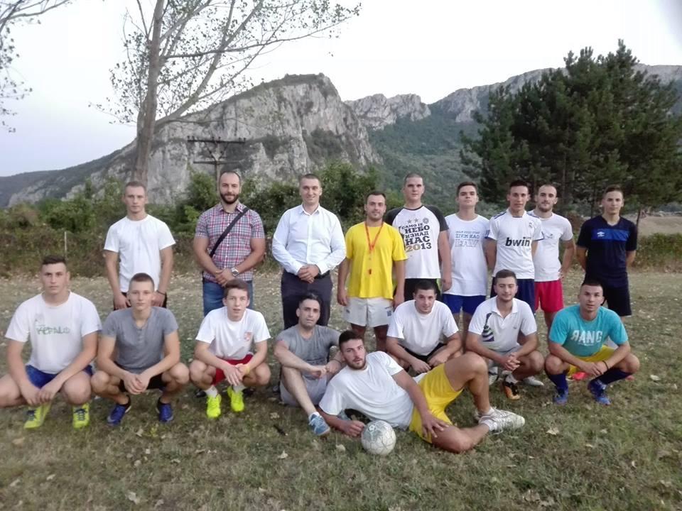 Oformljen fudbalski klub u Sićevu
