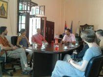 Svečani prijem za italijanske i srpske umetnike, učesnike skupa u Sićevu