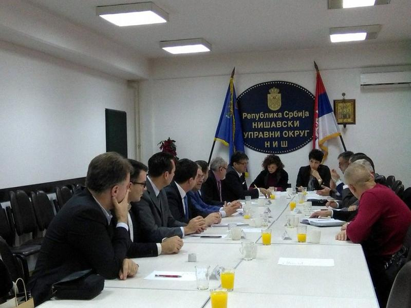 Održan sastanak načelnice Nišavskog upravnog okruga sa predstavnicima lokalnih samouprava i gradskih opština