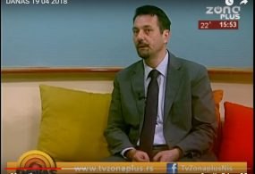 TV ZONA PLUS – DANAS 19.04.2018.