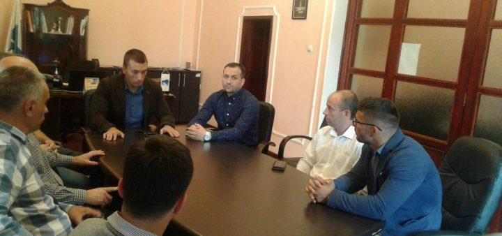 Predsednik i generalni sekretar Sportskog saveza Srbije u poseti Niškoj Banji
