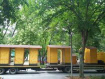 Centralni park u Niškoj Banji sada krase drvene barake