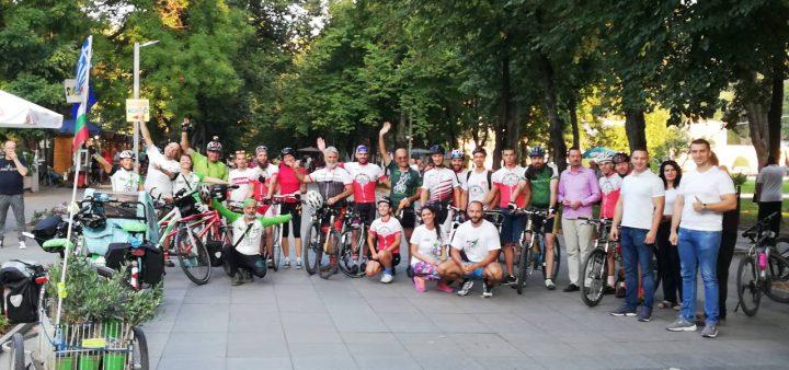 """Biciklistički karavan """"Bike for Europe"""" u Niškoj Banji"""