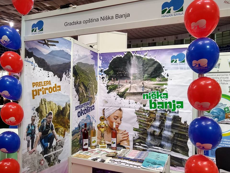 GO Niška Banja na 20. Međunarodnom sajmu turizma