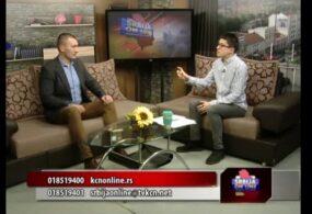 TV KCN 11.12.2020. Srbija online – Dušan Živković, predsednik Gradske opštine Niška Banja