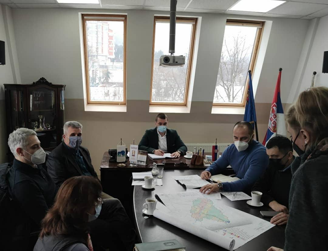 Radni sastanak sa predstavnicima Zavoda za urbanizam Niš