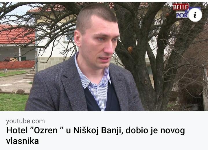 """Hotel """"Ozren"""" u Niškoj Banji dobio je novog vlasnika"""