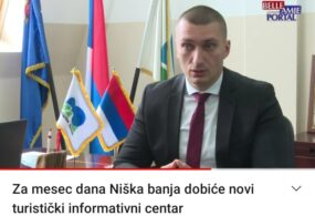 Za mesec dana Niška Banja dobiće novi turistički info centar