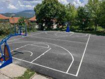 Niška Banja dobila nove košarkaške terene